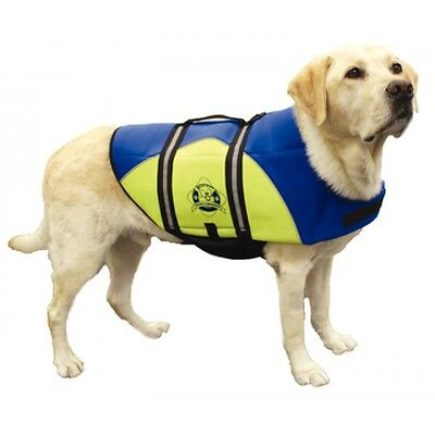 Paws Aboard Neoprene Pet Life Jacket Safety Reflective Maximum Visibility