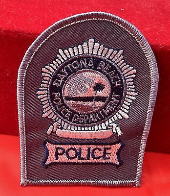 Daytona Beach embroidery patch Police Department Florida