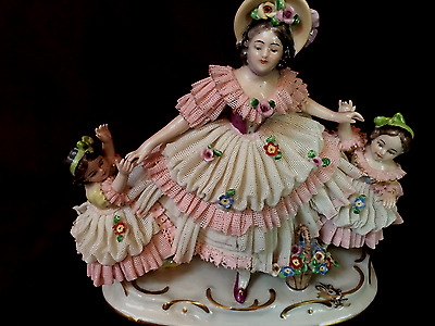 Antique porcelain figurine DRESDEN