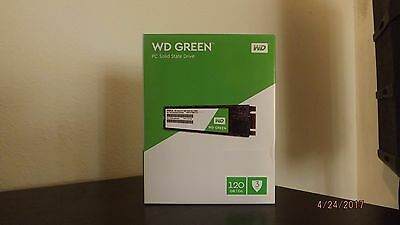 SSD M.2 Sata Western Digital WD GREEN 120Gb