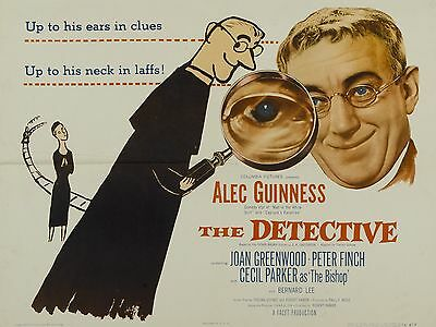 """Father Brown the Detective 16"""" x 12"""" Reproduction Movie Poster Photograph"""
