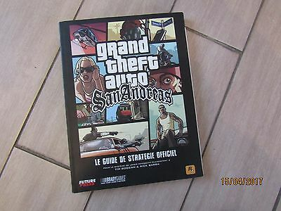 Guide Officiel ** Gta San Andreas ** Poster Grand Theft Auto Ps2 Vf Fr