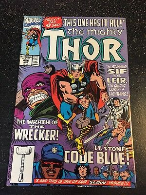 Mighty Thor#426 Incredible Condition 9.4(1990) Wrecking Crew, Leir,Sif App!!