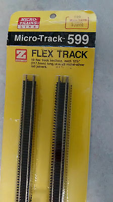 z scale MTL flex track 10 pieces in original pkg