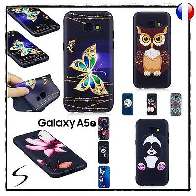 Etui housse coque souple silicone TPU Gel Case Cover Samsung Galaxy A5 2017