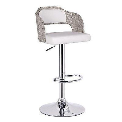 Adjustable Height Swivel Bar Stool with Cushion AdecoTrading FREE SHIPPING