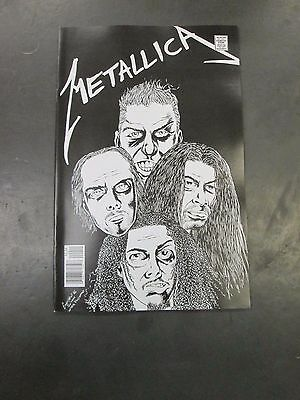 ROCK & ROLL BIOGRAPHIES METALLICA Michael Aushenker Mats Engsten Acme INK HOT