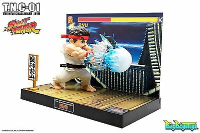 Big Boy Toys Street Fighter TNC-01 Ryu PVC LED Light Action Figure New in Box
