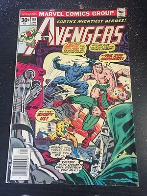 Avengers#155 Awesome Condition 7.0(1976) Dr.Doom, Perez Art, Wow!!
