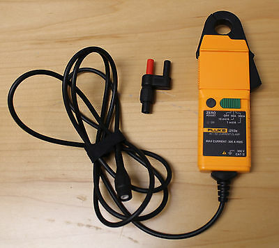 Fluke i310s AC/DC Current Probe (BNC connector with DMM banana plug adapter)