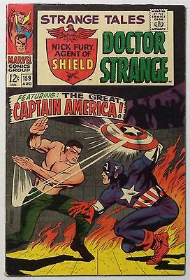 STRANGE TALES #159 August 1967 FN+ Captain America
