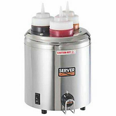Server Products SBW-86810 Topping Squeeze Bottle Warmer, (3) 16 oz. Capacity, B