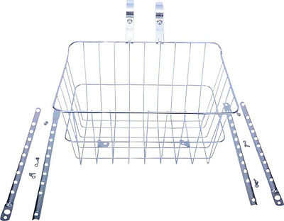 Wald 1512 Front Basket with Adjustable Legs Silver