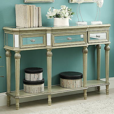 Henson 3 Drawer Console Table House of Hampton FREE SHIPPING (BRAND NEW)