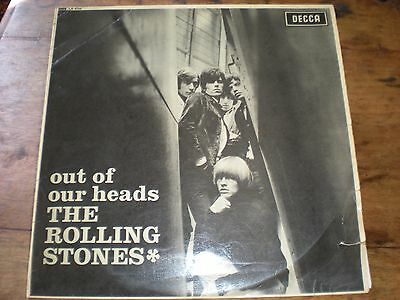 "The Rolling Stones - ""Out Of Our Heads"" vinyl LP (1965) VERY RARE ORIGINAL MONO"