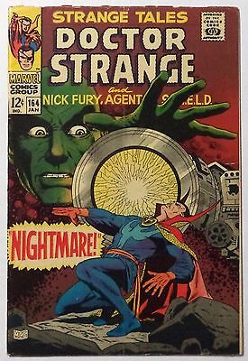 STRANGE TALES #164 January 1968 VG+ Yellow Claw