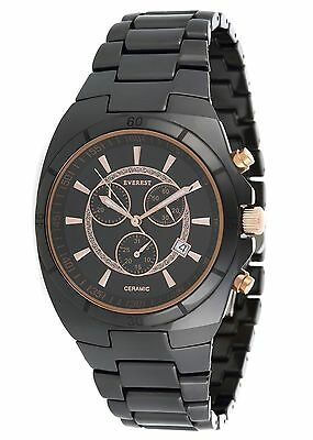 New Watch Collection by EVEREST Chronograph Analog Watch - Ceramic - Sapphire