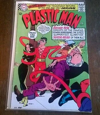 Plastic Man #1 (Nov 1966 DC Comics) VF/NM Gil Kane