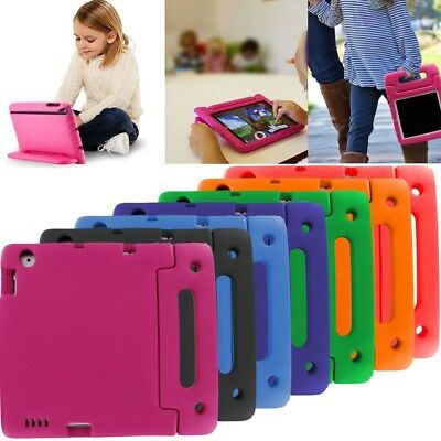 For iPad Mini 1 2 3 4 / iPad 2 3 4 Kids Shock Proof Foam Case Handle Cover Stand