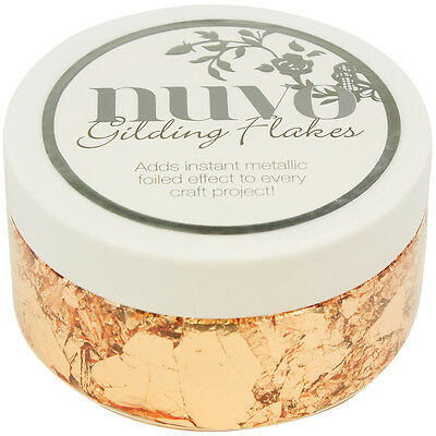 Nuvo Gilding Flakes 6.8oz Sunkissed Copper NGF852