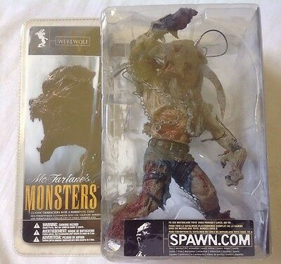 WEREWOLF monsters series mint in box McFarlane toy figurine MIB NEW horror spawn