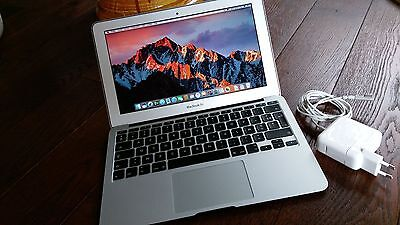 "Macbook Air 11"" i5 1,6GHz 4GB 128 SSD batterie 2 cycles"