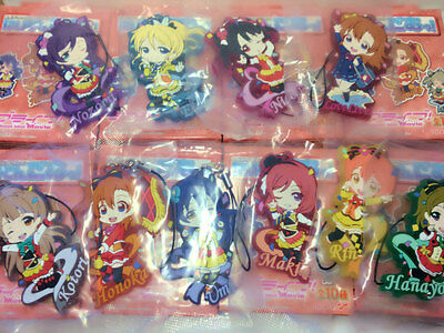 Love Live! The School Idol Movie Rubber Strap Ver.SUNNY DAY SONG Nozomi,Nico..