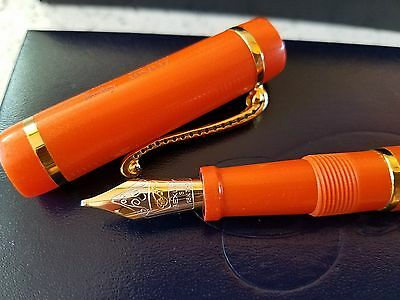 BEXLEY 2010 Owners Club Ltd. Ed. Ftn. Pen - Orange Fiberglass G-10 - #105/117