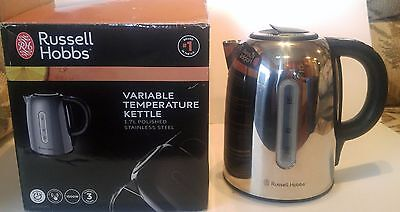 Russell Hobbs Variable Temperature Kettle 1.7L Polished Stainless Steel