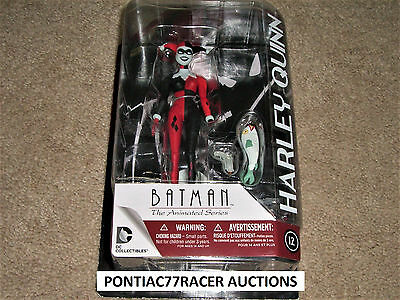 "Harley Quinn 6"" Action Figure Batman The Animated Series DC COMICS FREE SHIP"