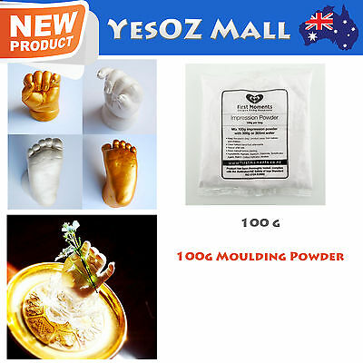 Refill Moulding Powder 100g for 3D Baby Casting foot and and hand - 100% Safe