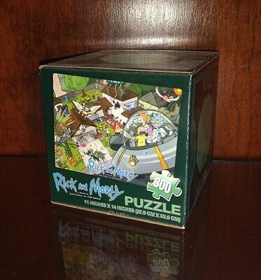 Rick and Morty puzzle 300 piece Cartoon Network Loot Crate Exclusive