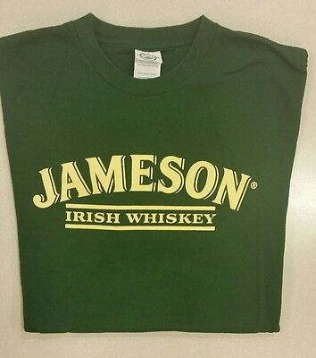 Jameson Whiskey Dark Green T-Shirt Size Large