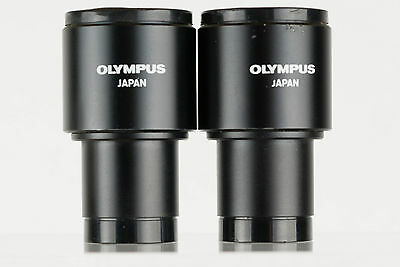 Two Olympus 10X Microscope eyepieces