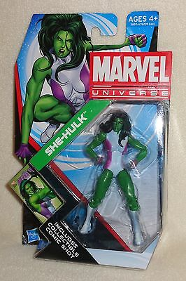 "Marvel Universe ~ SHE-HULK Green 3.75"" Action Figure Infinite Series 4 #12  NEW"