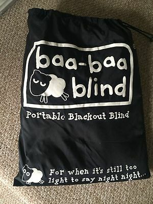 Baa Baa Blind, Portable Blackout Blind