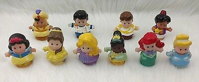 Fisher Price Little People Disney Songs Palace Princess Prince Figures Lot 10 P
