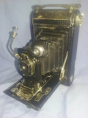 Vintage Kodak A-1 Autographic Junior folding camera  w box and manual, reduced !