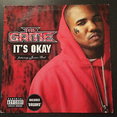 "THE Game - It's Okay 12"" Vinyl EP Single Record Gangsta Rap hip cent hop 50 nwa"