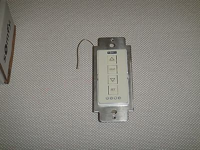 Somfy Inteo Wirefree RTS Wall Switch, 4 Channel, #6301025