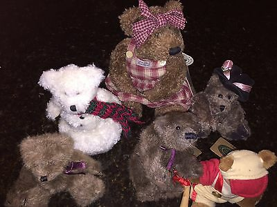 Boyd's Bears with Names from Archive Collection LOT of 6 WITH TAGS