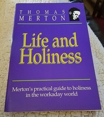 Life and Holiness by Thomas Merton Paperback Book (English)