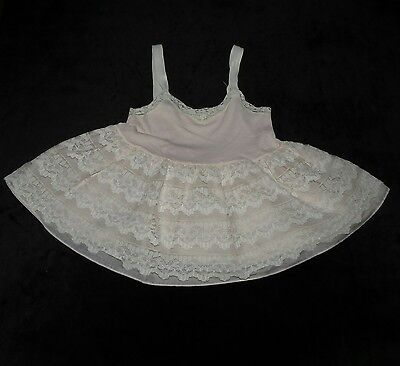 Lovely Vintage Baby Girls Lawrence Children's Underwear Lacey Slip Evc Size 1