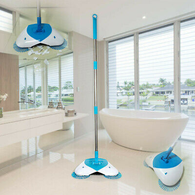 AU Hurricane Spin Broom The Best Cordless Lightweight Spinning Broom To Sweep