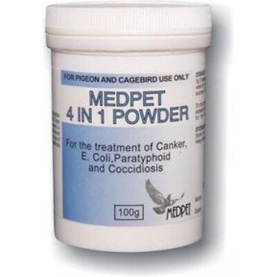 Pigeon Product - 4 in 1 POWDER by Medpet for Racing Pigeons
