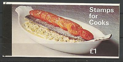 Great Britain 1969 Booklet complete SG 125 Queen Elizabeth Mint Never Hinged