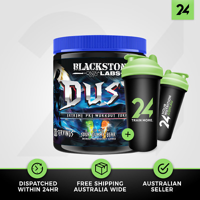 Blackstone Labs Dust V2 | Extreme Energy Pre Workout Angel Dust | Free Gift!