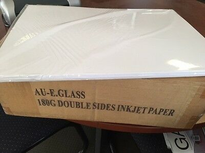 A3 Inkjet Double Sided Matte Paper 180 gsm Box of 500 sheets