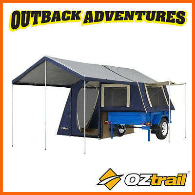 Oztrail Camper 6 Trailer Top Canvas Tent
