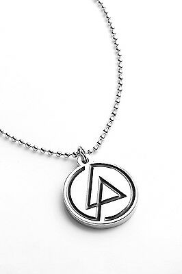 Linkin Park Metal Pendant with Chain Ball Necklace One More Light Black